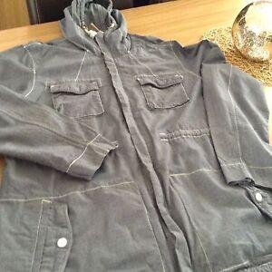 Mens-Jacket-Cedar-wood-State-Size-X-large-Blue