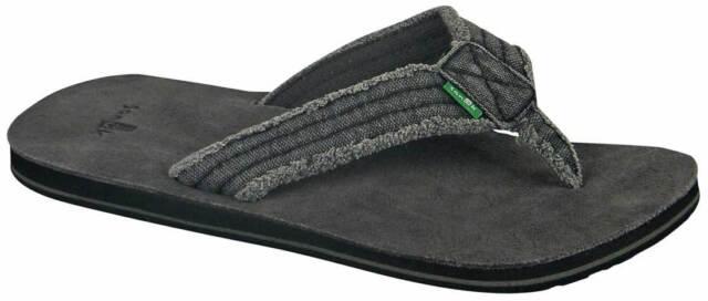 1329ab7e8417 Sanuk Mens Sandal Fraid Not Charcoal Sms2117 Chr Size 12 for sale ...