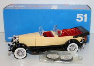 Rio-Escala-1-43-51-1928-Lincoln-Sport-Phaeton-scoperta