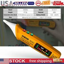 Vc1017 Non Contact Led Electric Tester Digital Ac Voltage Detector Yellow