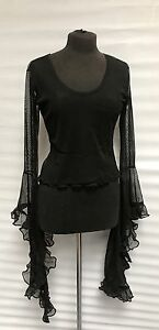 Raven-Gothic-Black-Mesh-Top-With-Morticia-Sleeves-10-12