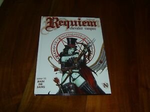 REQUIEM CHEVALIER VAMPIRE tome  10 triptyque A rare avec portfolio ...