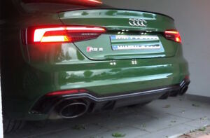 Audi-A5-F5A-B9-Sport-S-line-Boot-lip-Spoiler-Wing-Unpainted