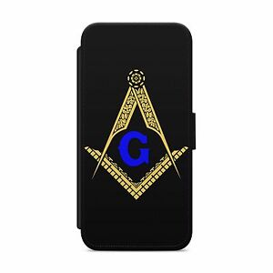 Details about MASON SYMBOL MASONIC WALLET FLIP PHONE CASE COVER FOR IPHONE SAMSUNG HUAWEI S146
