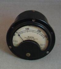 Vintage Weston Watts Meter