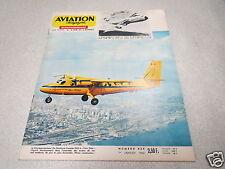 AVIATION MAGAZINE N° 434 - DE HAVILLAND TWIN OTTER - LOCKHEED C-5 1966 *