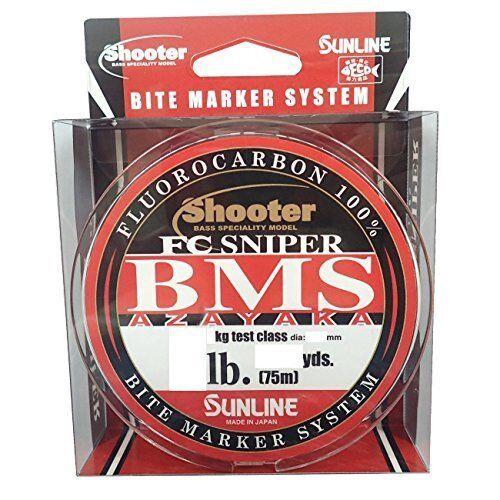 SUNLINE Shooter FC Sniper Bms Azayaka Fluorocarbon 75m 2.5lb  Fishing LINE