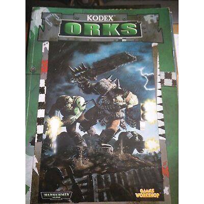 Warhammer 40k 40.000 Codex Orc Games Workshop guter Zustand