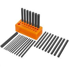 28 Pc Center Punch Set Steel Transfer Punch Machinist Thread Tool Kit Set