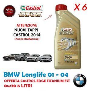 6-SEI-LITRI-OLIO-CASTROL-EDGE-TITANIUM-FST-0W30-ORIGINALE-BMW-LONGLIFE-04