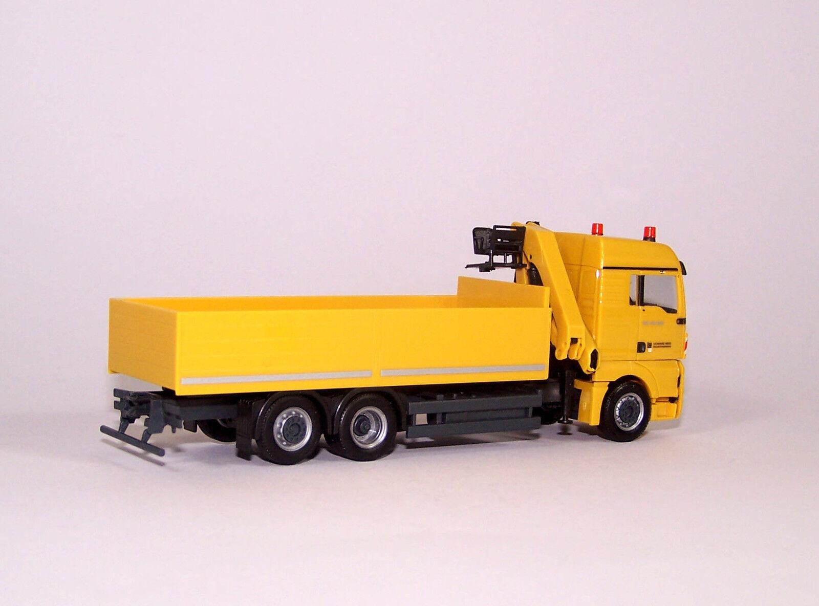 Herpa 933605 933605 933605 MAN TGX XlX euro 5 tablillas-camión con grúa  Leonard Weiss  - 1 87 49b3e0