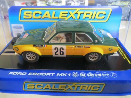 New Old Shop Stock Getting rare à trouver de nouveaux!!! Scalextric C3635 Ford Escort Mk1