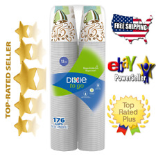 Dixie 12 Oz Perfectouch Insulated Paper Hot Cold Coffee Haze Cup 176 Cups