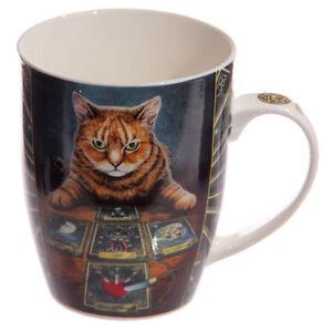 Un-Bel-Mug-Gatto-Lettore-Osso-Cina-Mug-da-Lisa-Parker