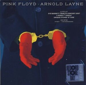 """Pink Floyd - Arnold Layne - Limited Edition 7"""" Etched Vinyl Single - RSD 2020"""