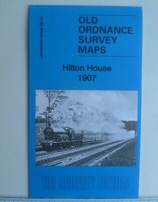 Old Ordnance Survey Maps Heaton Park Lancashire 1907 Godfrey Edt Special Price