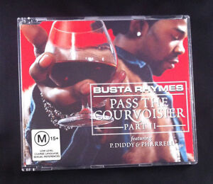 Busta-Thymes-Pass-The-Courvoisier-Part-II-Feat-P-Diddy-amp-Pharrell-CD-Single