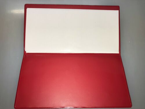 Printed Firearms Certificate//Licence Holder//Wallet-SGC//Fac A Double Red