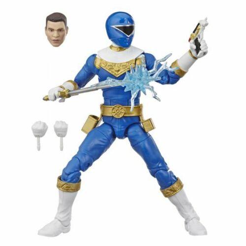 Blue Ranger-POWER RANGERS ZEO-Hasbro Lightning Collection 6 Pollici Figura