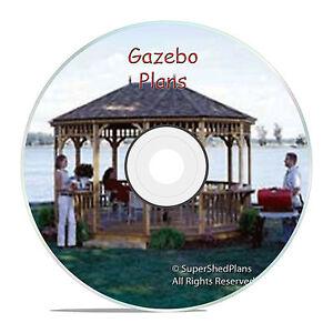 High end design gazebo plans 10x16 hexagon gazebo plans for Home hardware gazebo plans