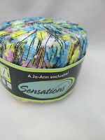 Sensations Flutterby Carry Yarn - Pale Multi Color