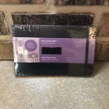 Moleskine Art Plus Black Page Album A4 Black Hard Cover 85 X 12 Hardback