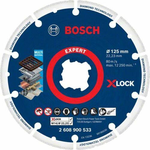 Bosch X-LOCK Dia Metalltrennscheibe125x22.23mm
