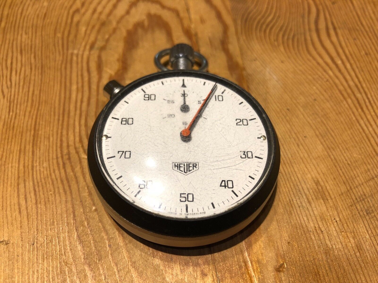 Very Rare - HEUER Sport Chrono Vintage - Vintage Chrono Stopwatch 53 mm diameter 3241af