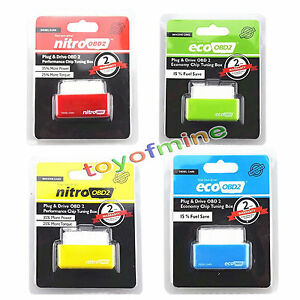 Nuovo-Nitro-OBD2-Chip-tuning-interfaccia-Plug-amp-Drive-per-Diesel-Cars