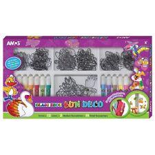 AMOS Suncatcher Glass Deco Decoration Art Craft Kit - 12 Colours 20 Suncatchers