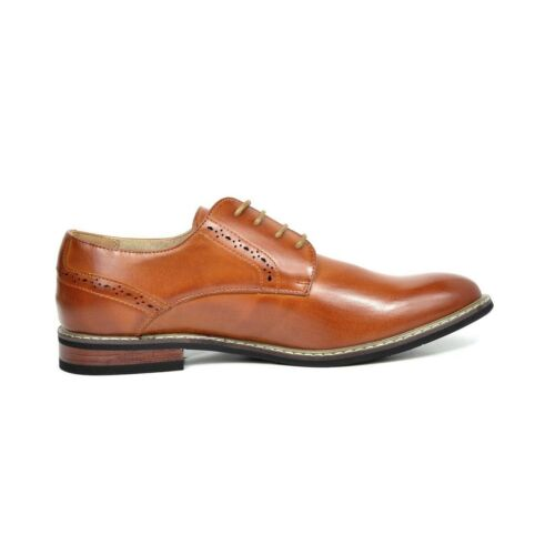 Bruno Marc Leather-Lined Oxfords