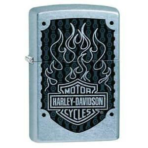 Zippo-Windproof-Lighter-Classic-Harley-Davidson-Street-Chrome-29157