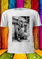 Cool Girl Smoking Amsterdam Tumblr T-shirt Vest Tank Top Men Women Unisex 2205