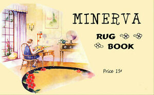 Minerva-Color-Rug-Making-Book-c-1929-Vintage-Designs-And-Tips-to-Make-Rugs