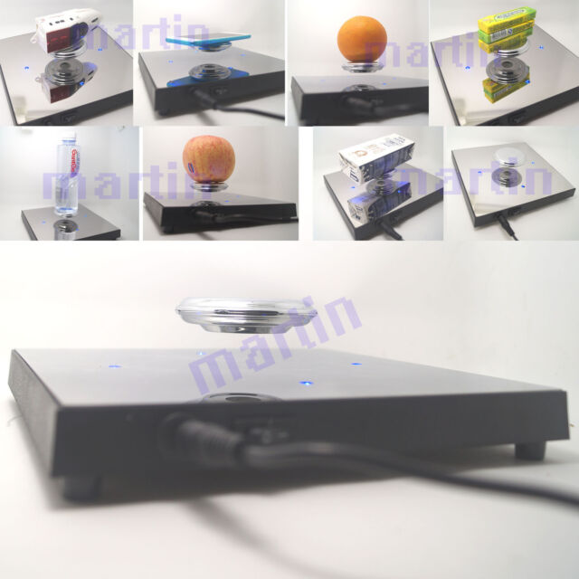 New Rotating Magnetic Levitron Levitation Floating Show Shelf Display Plateform