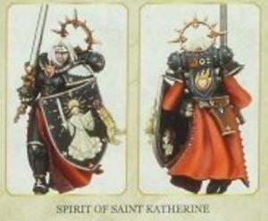 The Triumph of Saint Katherine Adepta Sororitas Sisters of Battle St Katherine