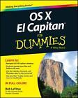 OS X El Capitan For Dummies von Bob LeVitus (2015, Taschenbuch)
