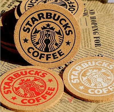 1 Pcs Interesting Coffee Coaster Handy Antislip Cork Mat Beverage Cup Mug Glass