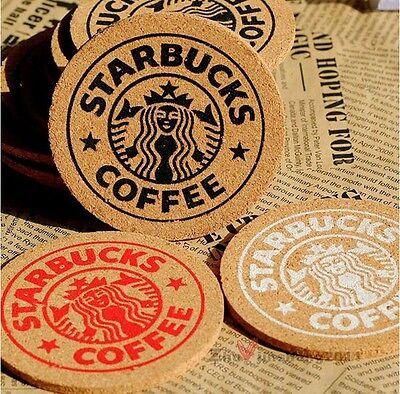 1 Pcs Interesting Coffee Coaster Handy Antislip Cork Mat Beverage Cup Mug Glass