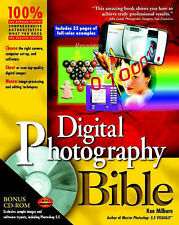 Digital Photography Bible by Ken Milburn With CD Year. 2000