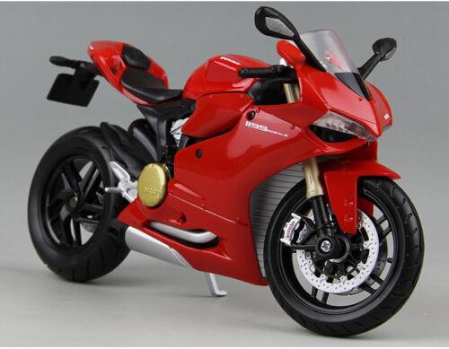 Aleación de Maisto 1:12 DUCATI 1199 Panigale Motocicleta Motor Bicicleta Juguete Diecast Modelo
