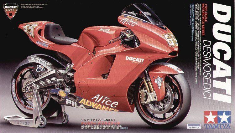 Tamiya 1 12 Ducati Desmosedici