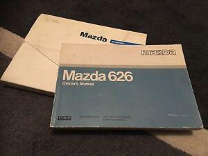 rare mazda 626 handbook owners manual wallet set 1991 1997 mark rh ebay co uk Blue 1997 Mazda 626 1997 Mazda 626 Specs
