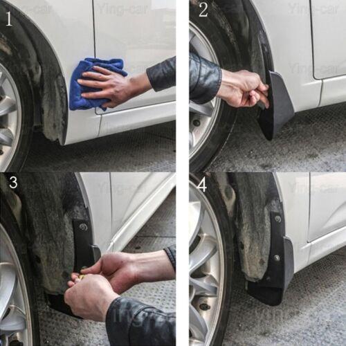 4Pcs Car Mud Flaps Splash Guard Mudguard Mudflaps For KIA K2 Sedan 2011-2019