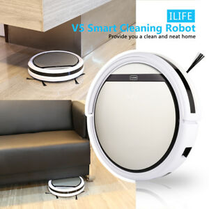ILIFE-V5-Staubsauger-Smart-Robot-Cleaner-Saugroboter-Auto-Vacuum-Dust-Cleaner