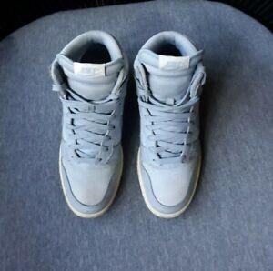 Nike-Women-s-Size-7-Dunk-Sky-High-Blue-Gray-Wedge-Sneaker-Tennis-Shoe