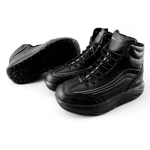 b1489429ee51f0 Walkmaxx Winter Fitness Stiefel schwarz Gr. 37 38 39 40 41 Damen Herren NEU