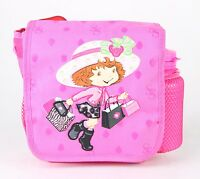 Strawberry Shortcake Vintage Look Lunch Bag Girls Kids With Water Bottle -