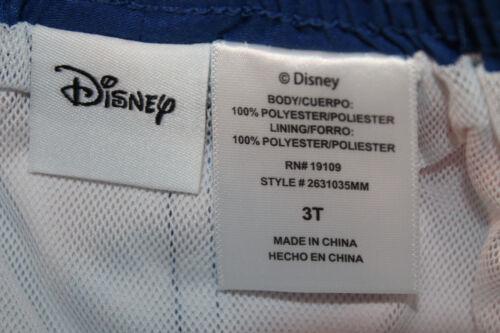 Disney Mickey Mouse Toddler Boy Swim Shorts Sizes 3T 4T 5T new #024