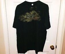 NINE INCH NAILS NIN Vintage 90s The Downward Spiral Logo T-Shirt Mens Size Large